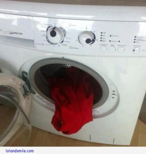 washing machine eat socks